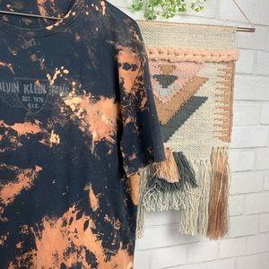 Calvin Klein Jeans Tops - Calvin Klein Bleach Splatter Graphic Tee SZ 2XL